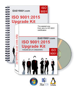 ISO 9001:2015 Upgrade Kit